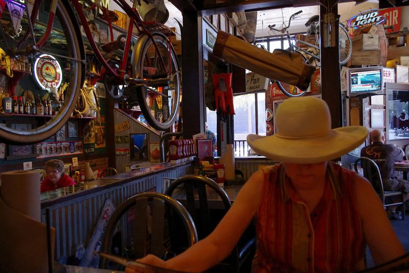 Lunch at Sanford's Pub and Grub, Sheridan, Wyoming.