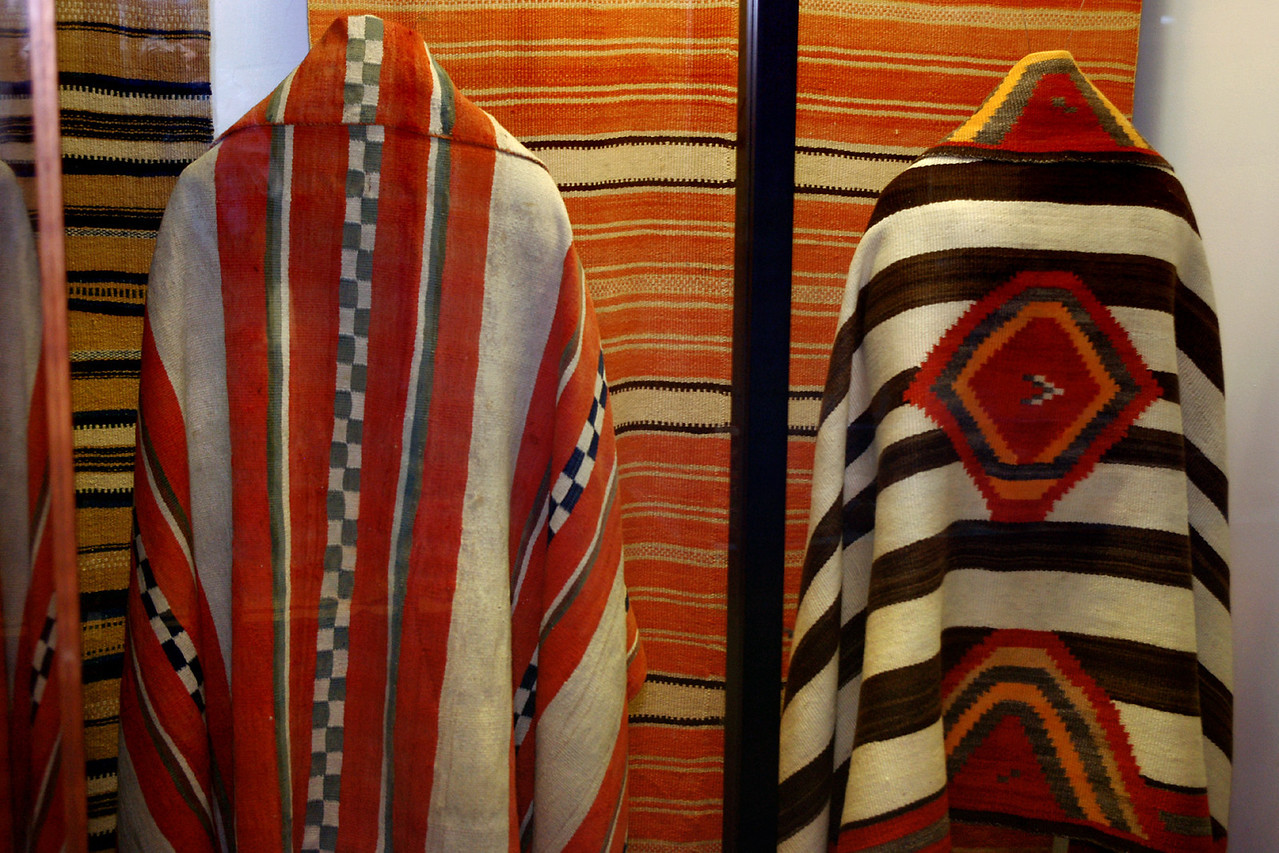 Native American textiles, Museum of the Fur Trade, near Chadron, Nebraska.