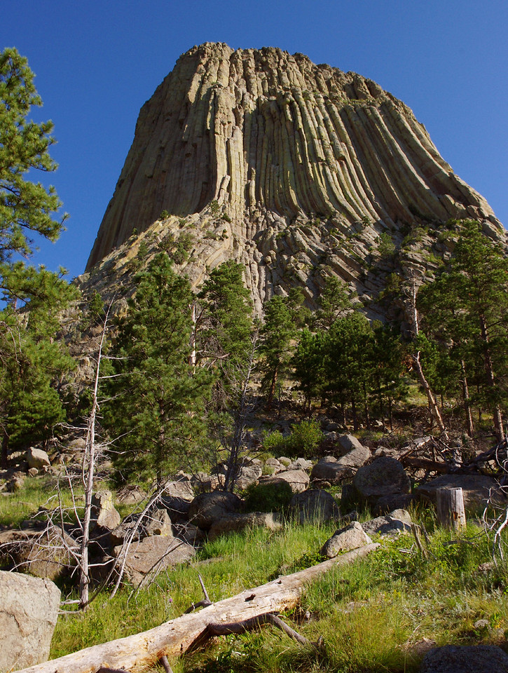 Devil's Tower, South Dakota.