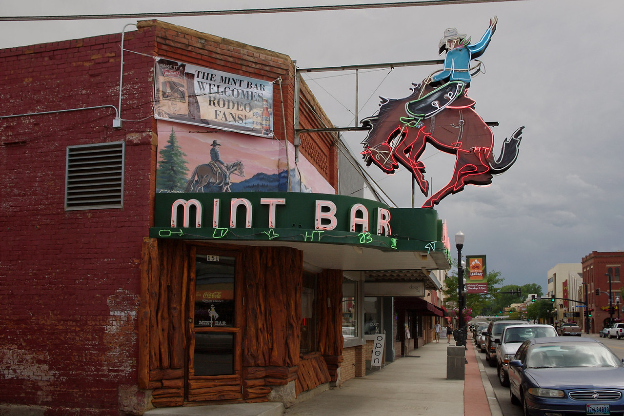 Mint Bar, Sheridan, Wyoming.