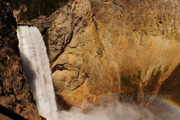 Uncle Tom's Trail, Lower Falls, Yellowstone Grand Canyon