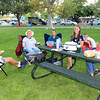 2020-09-14_2_St. George_Dinner Picnic with Reeps.JPG<br /> Tony Edmonds, SherryAnn, Aaron, Mattina Ann, Geremy, Tanner Reep.  Catching up with cousins at a dinner picnic in the park in St. George, Utah.