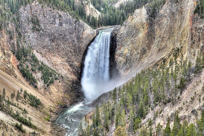 Yellowstone Falls, Yellowstone National Park