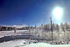 063 Yellowstone2006 Day4 Jan24 north of Old Faithful