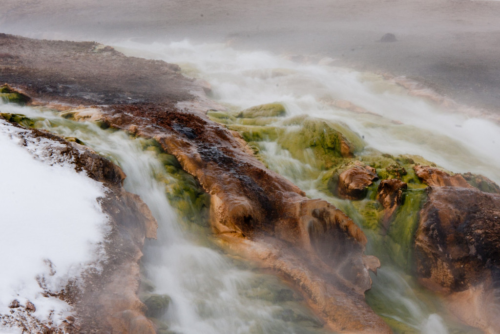 Runoff from Excelsior Geyser