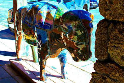 Bison Art - West Yellowstone_Friday