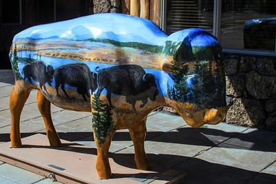 Bison Art - West Yellowstone_Saturday