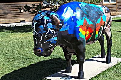 Bison Art - West Yellowstone_Wednesday