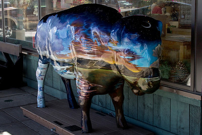 Bison Art - West Yellowstone_Tuesday