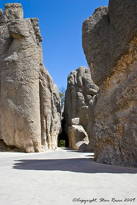 A tunnel through the rock - Needles Highway, South Dakota.