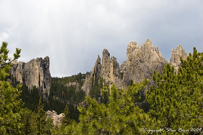Along the Needles Highway, South Dakota.