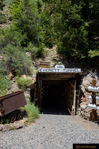 Our tour of the Everett Silver Mine starts here.