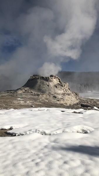 VIDEO:  Castle Geyser in Upper Geyser Basin