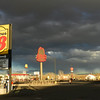 Wyoming gas stop.