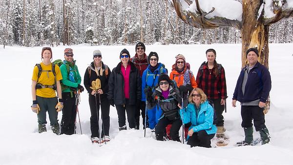 The Sunday Snowshoe Crew
