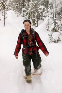 Kayla on the Trail