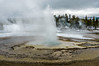 Another geyser erupts