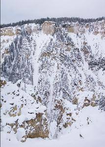 Yellowstone Canyon Wall