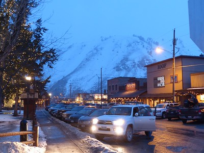 Jackson Hole town square