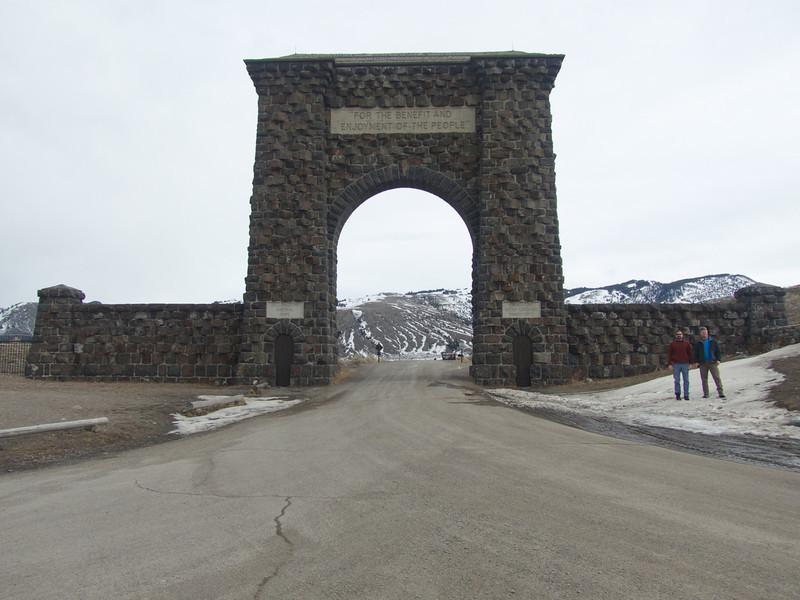 Roosevelt Arch - Gardiner, MT