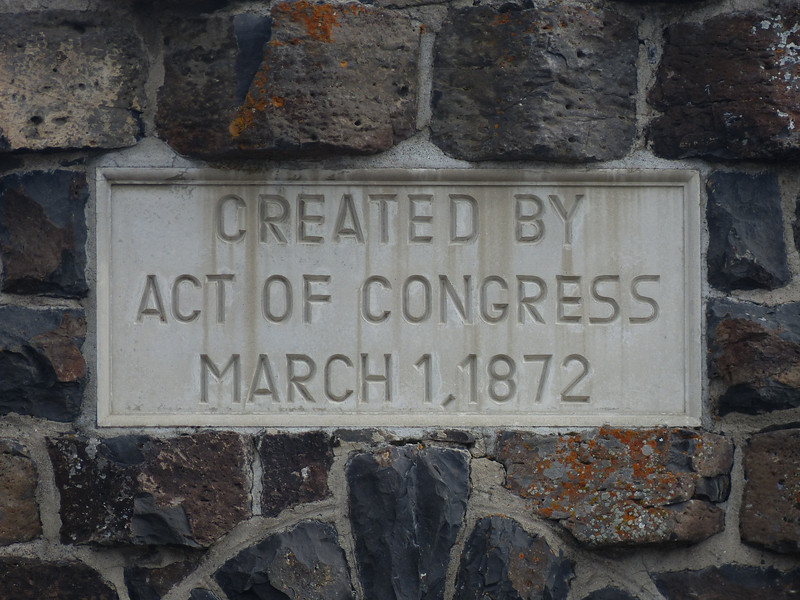Created by Act of Congress - 1872