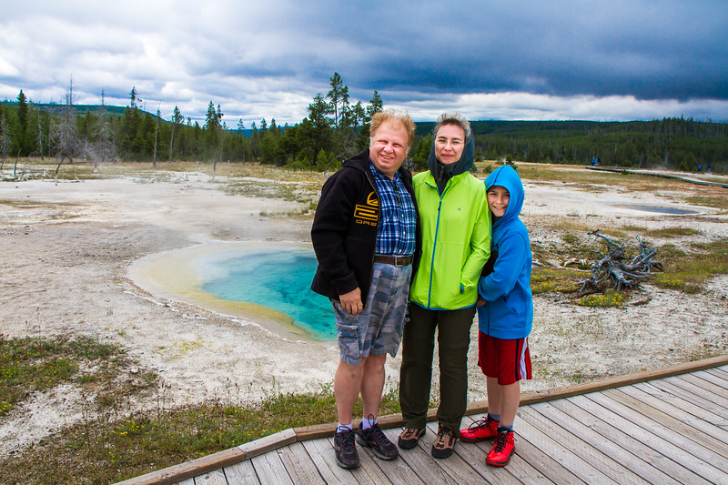 Yellowstone - Biscuit geyser basin