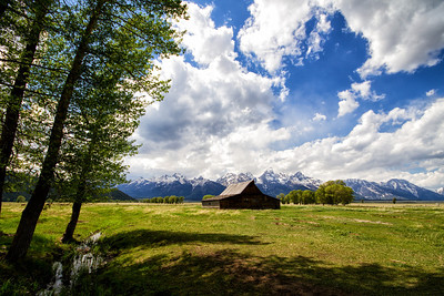 Barn on Mormon Row, Grand Tetons