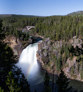 Upper Falls with a rainbow