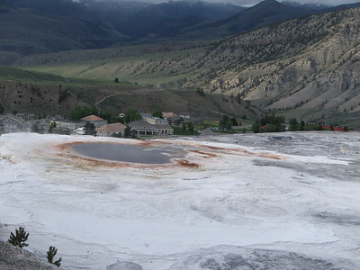 The Mammoth Hot Springs Terraces