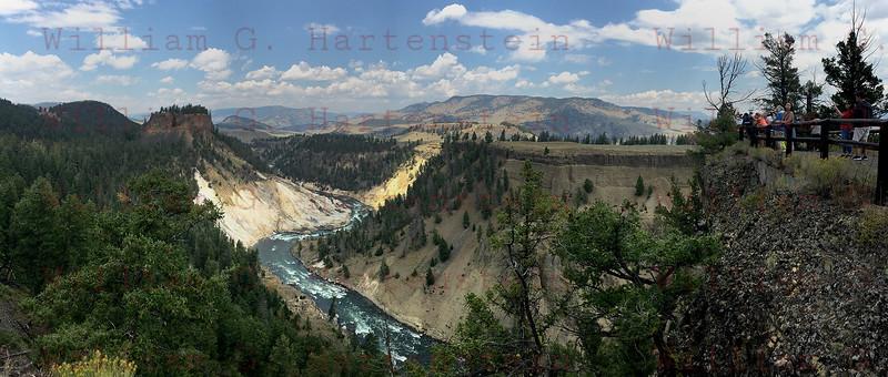 Pano Yellowstone, WY 08-17-2017