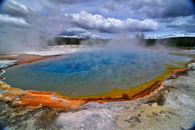 Rainbow Pool, Black Sands Basin, Yellowstone NP