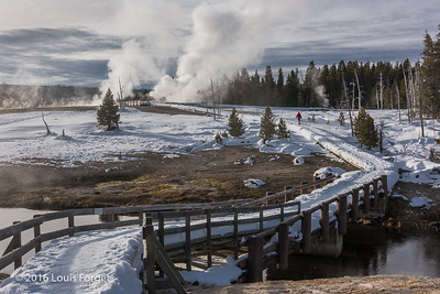 Firehole River, Upper Geyser Basin, Yellowstone National Park