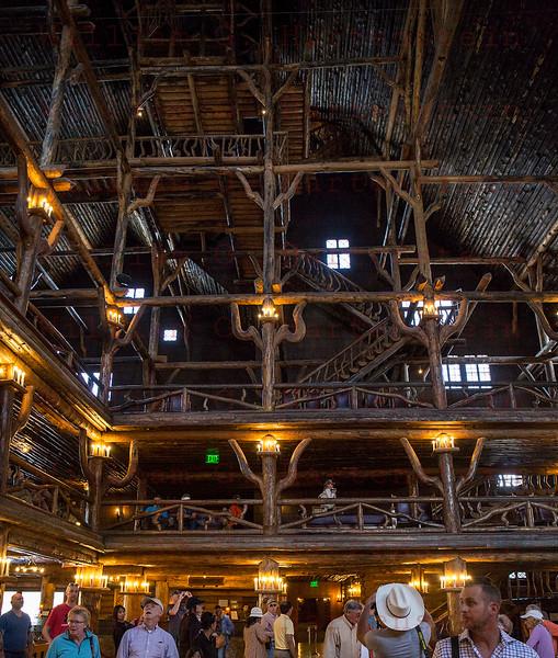 Old Faithful Inn, Yellowstone, WY 08-16-2017