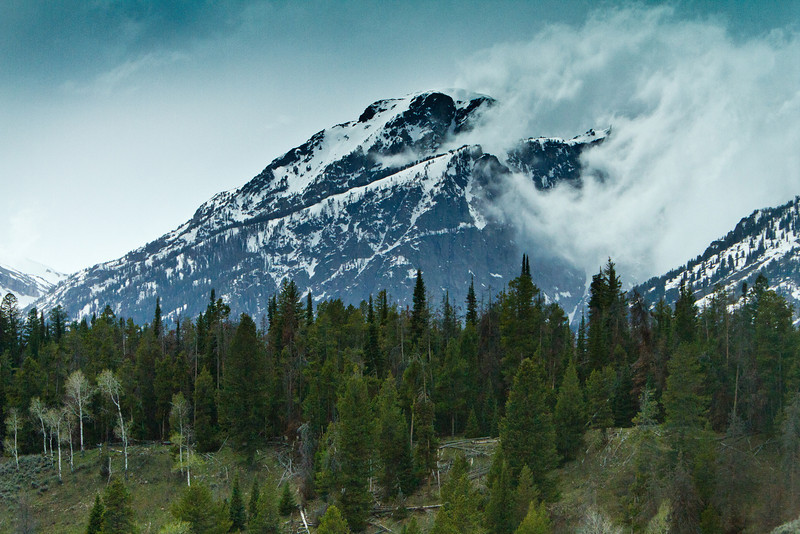 The Clouds Roll In, Grand Teton National Park
