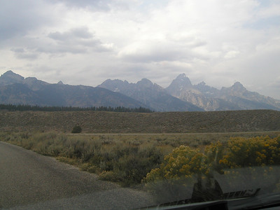 Tetons Highlighted
