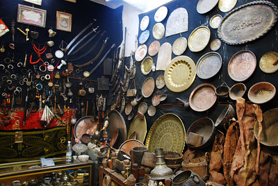 Shop in the souq.