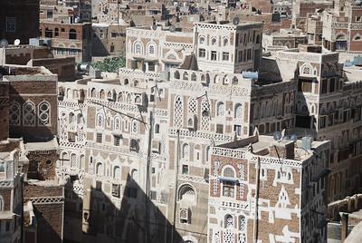Sana'a tower house.
