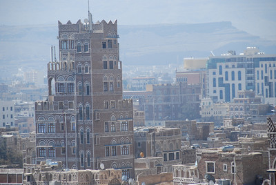 View of Old Sana'a