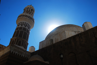 Colin's gorgeous photo of the mosque around the corner from the hotel.