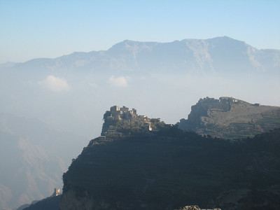Incredible scenery in the mountains of Yemen