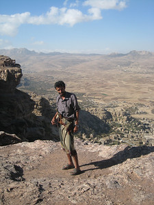 Ali, our guide, driver and on occasions, armed guard.