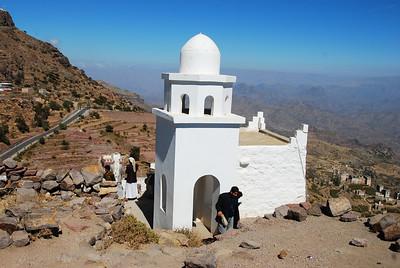 The mini-mosque at Al Hutayb