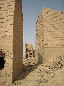 The ruins at old Ma'rib.