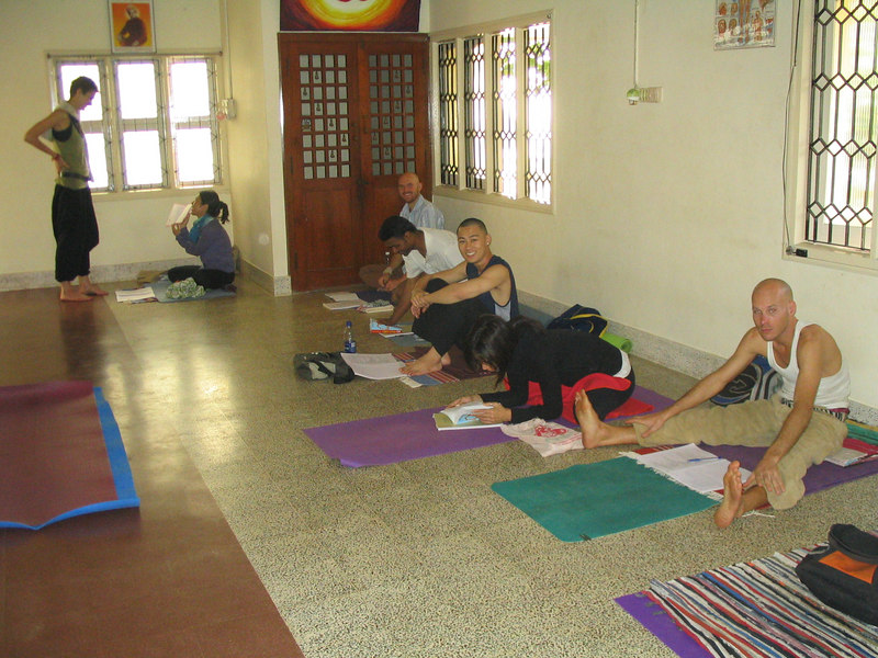 My Jan-Feb yoga classmates.