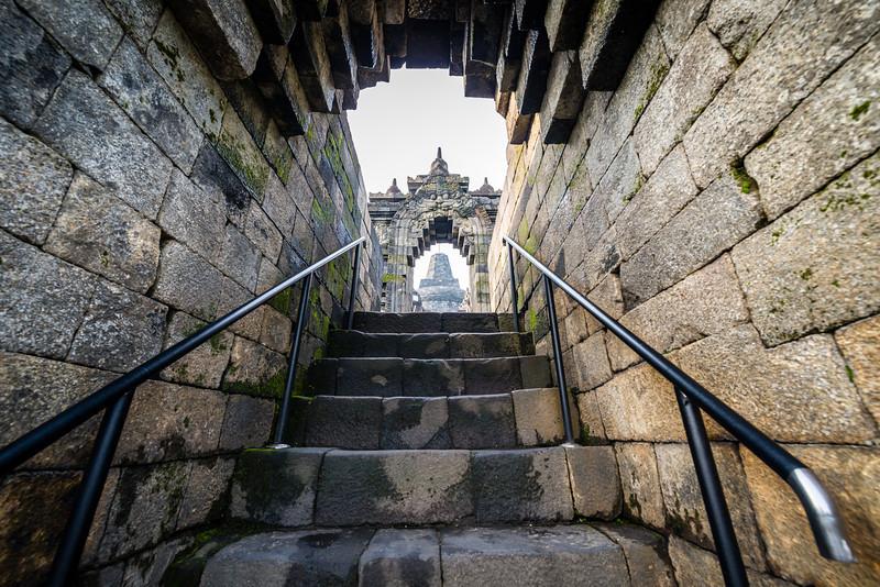 Steep Stair Climb