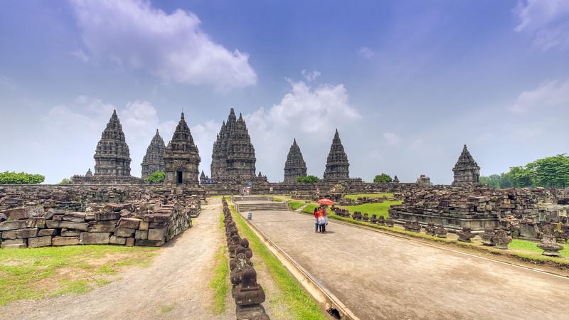 Closer to Prambanan