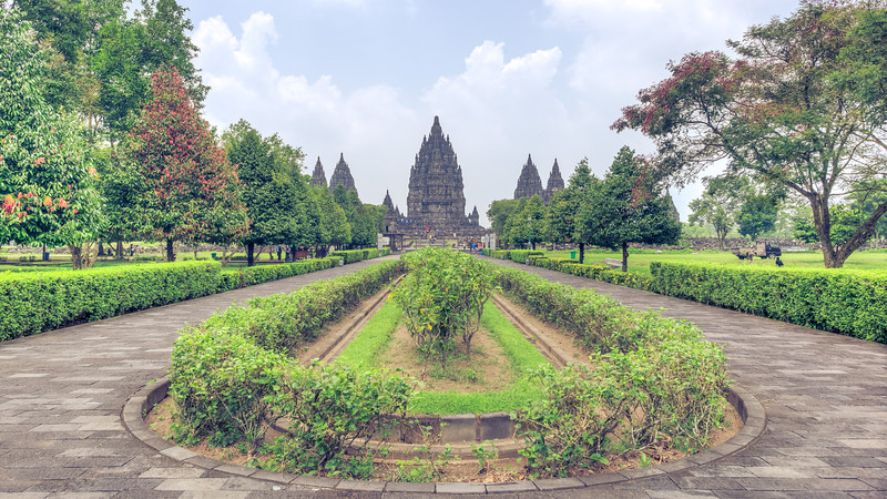 Straight to Prambanan