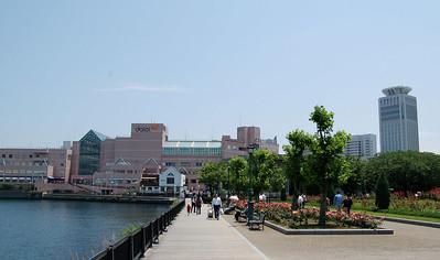 Yokosuka Boardwalk toward Main Gate