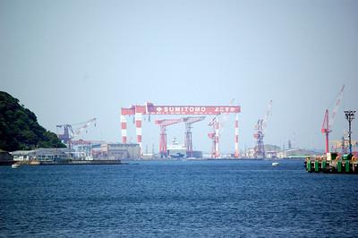 Mitsubishi heavy cranes