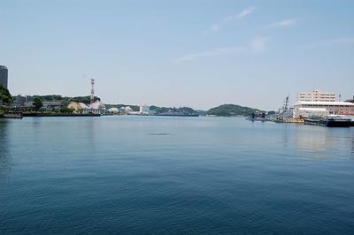 Yokosuka Naval Base from Quay Wall